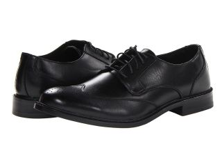Deer Stags Providence Mens Lace Up Wing Tip Shoes (Black)