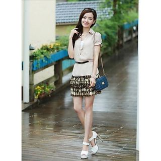 Womens Fashion Slim Summer Dress