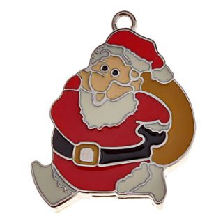 Christmas Man Feature Metal USB Flash Drive 16G