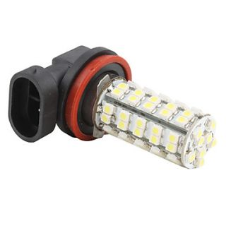 H11 68 SMD LED 220   250Lm Super White Light Car Fog Bulb 12V