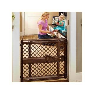 NORTH STATES North States Supergate Ergo Baby Gate   Espresso, Brown