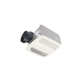 Nutone QTXEN110S Bathroom Fan, 110 CFM Ultra Silent Energy Star Rated w/ Humidity Sensing for 6 Duct