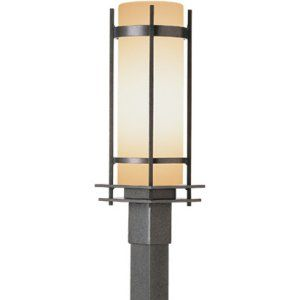 Hubbardton Forge HUB 345895 20 G40 Banded Outdoor 22.25 Post Light