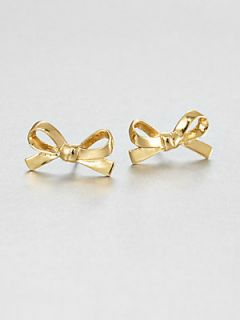 Kate Spade New York Bow Studs   Gold