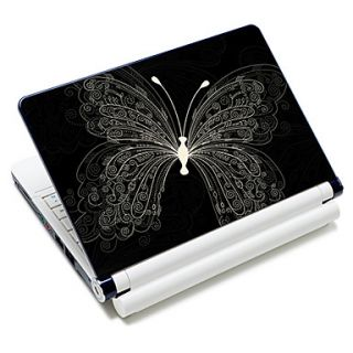 Cool Butterfly Pattern Laptop Notebook Cover Protective Skin Sticker For 10/15 Laptop 18315
