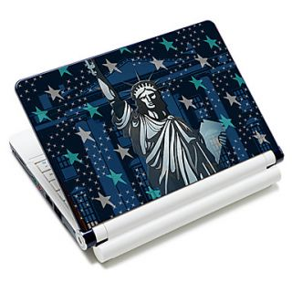 Statue Of Liberty Pattern Laptop Notebook Cover Protective Skin Sticker For 10/15 Laptop 18351