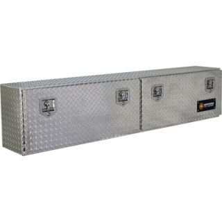 Locking Aluminum Top Mount Truck Box   72in. x 12in.