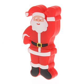 Plastic Santa Claus Model USB 32GB