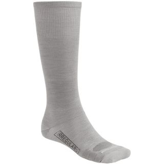 SmartWool PhD Ultralight Graduated Compression Socks   Merino Wool (For Men and Women)   SILVER/WHITE (S )