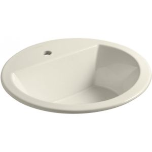 Kohler K 2714 1 47 Bryant Bryant® Round Drop In Bathroom Sink with Single Faucet