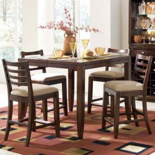 American Drew Tribecca 5 pc. Counter Height Dining Set Multicolor   ADL4340