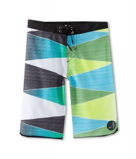 ONeill Kids Averted Boardshort Boys Swimwear (Green)