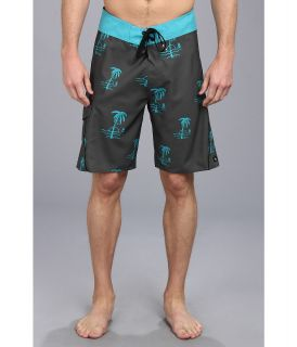 Rip Curl Palm Boardshort Mens Swimwear (Gray)