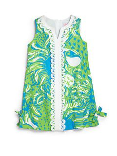 Lilly Pulitzer Kids Toddlers & Little Girls Classic Shift Dress   Limeade