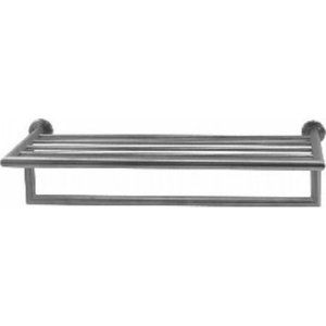 Aquabrass AB 650 SS Serie 600 Wallmount Stainless Steel Towel Rack with Bar