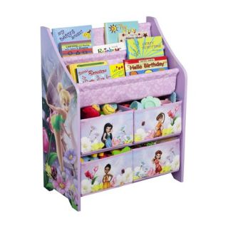 Kids Storage Unit Delta Childrens Products Book and Toy Organizer   Fairies