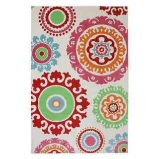 Mohawk Home Pindall Indoor/Outdoor Rug Multicolor   90000 6013 063094, 5.25 x 7.