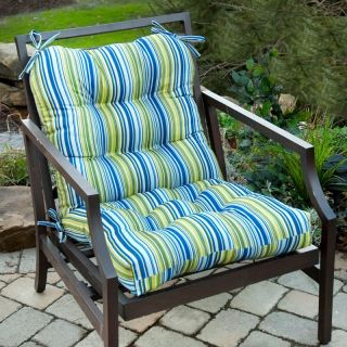 Greendale Outdoor Seat/Back Chair Cushion Roma Stripe   OC5815 ROMASTRIPE