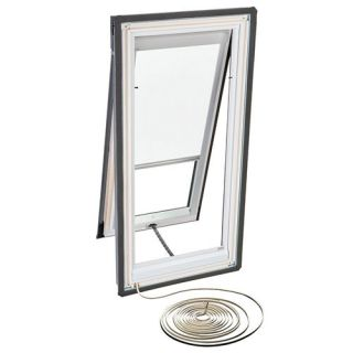 Velux RMH M04 1028 Skylight Blind, Electric Powered Light Filtering for Velux VSE M04 Models White