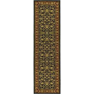 Lyndhurst Collection Majestic Black/ Red Runner (23 X 14)