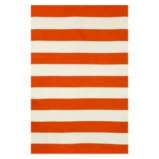 Trans Ocean Sorrento 6302/04 Rugby Stripe Indoor / Outdoor Rug Yellow