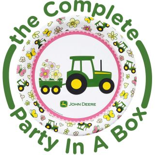 John Deere Pink Party Packs