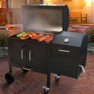 Landmann Black Dog 42XT Charcoal Grill & Smoker   590135