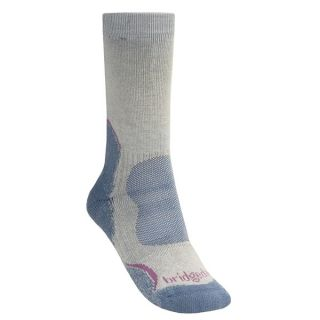 Bridgedale Hiker Socks   CoolMax(R) (For Women)   CHOCOLATE (S )