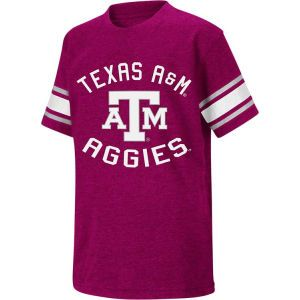 Texas A&M Aggies Colosseum NCAA Youth Football Short Sleeve T Shirt