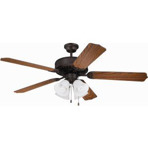 Ellington Fans ELF E203ABZ Pro 203 52 Ceiling Fan Motor only with Integrated Li